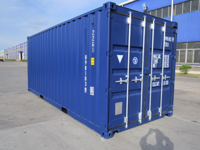 Container 20 pieds dry bgood containers shippingbgood for Conteneur maritime prix occasion