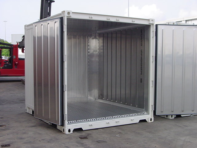 Container 10 pieds reefer bgood containers shippingbgood for Conteneur maritime prix occasion