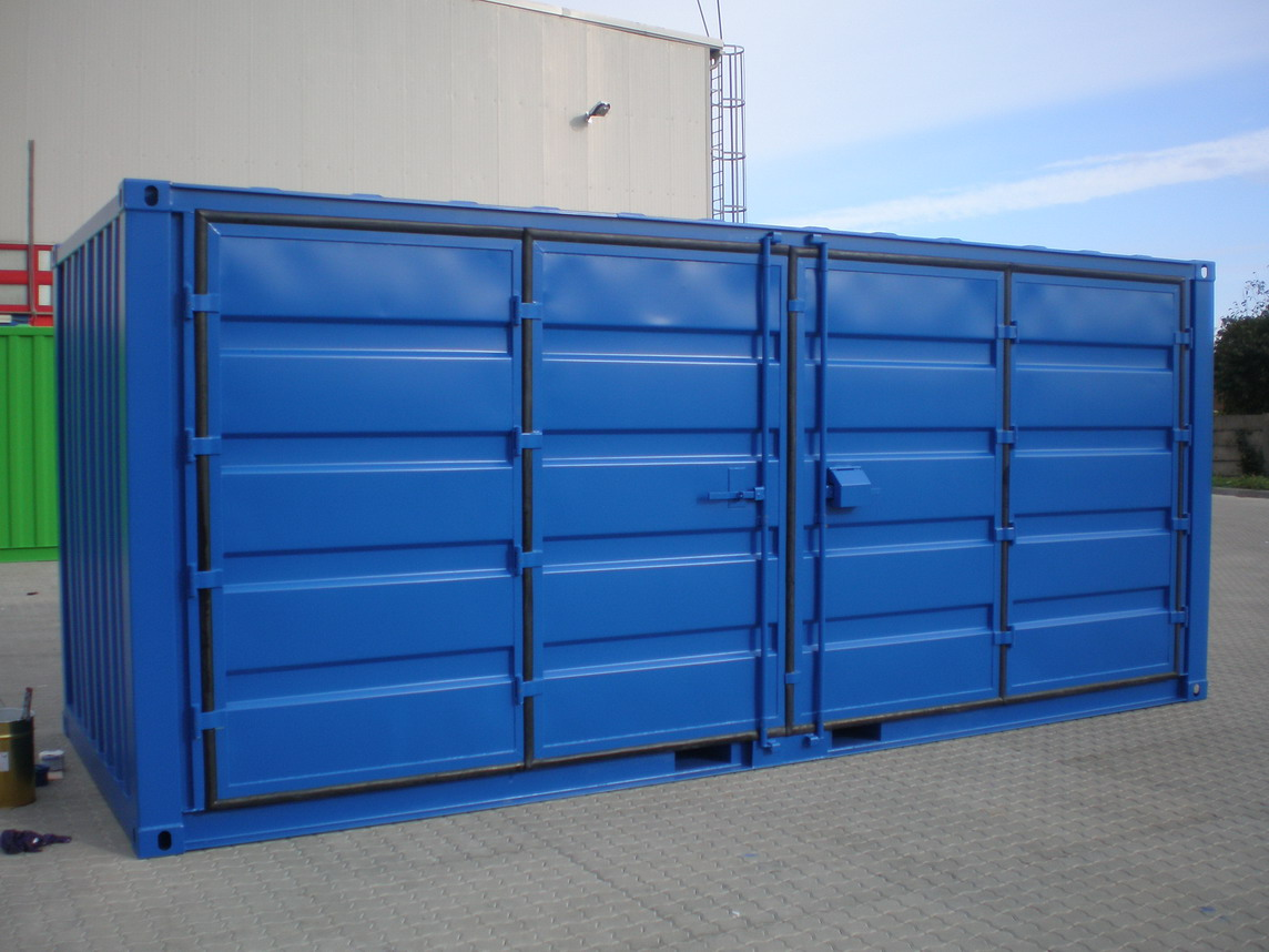 Conteneur 20 pieds open side stockage bgood containers for Plan container 20 pieds
