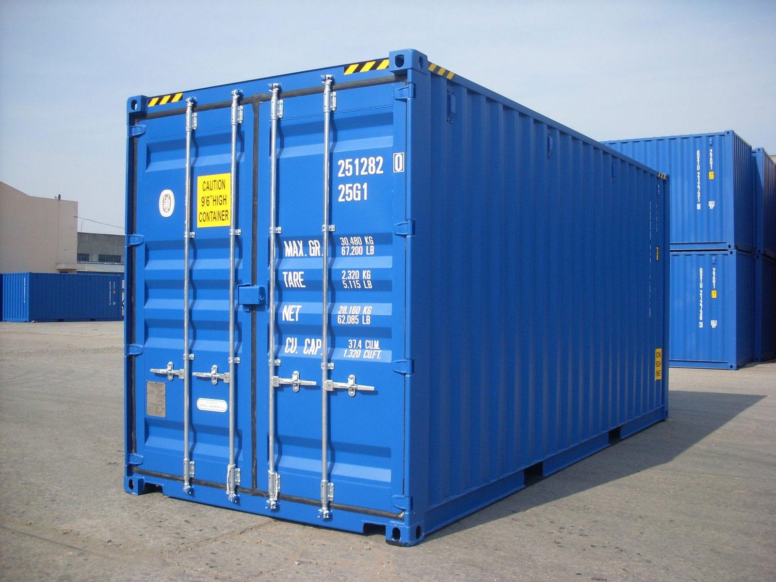 conteneur 20 pieds 1er voyage neuf partir de 1900 ht bgood containers shippingbgood. Black Bedroom Furniture Sets. Home Design Ideas