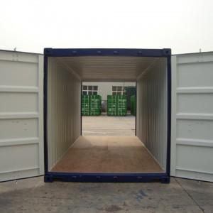 conteneur double portes