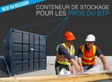 conteneur de chantier