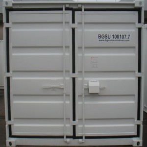 conteneur stockage  pieds
